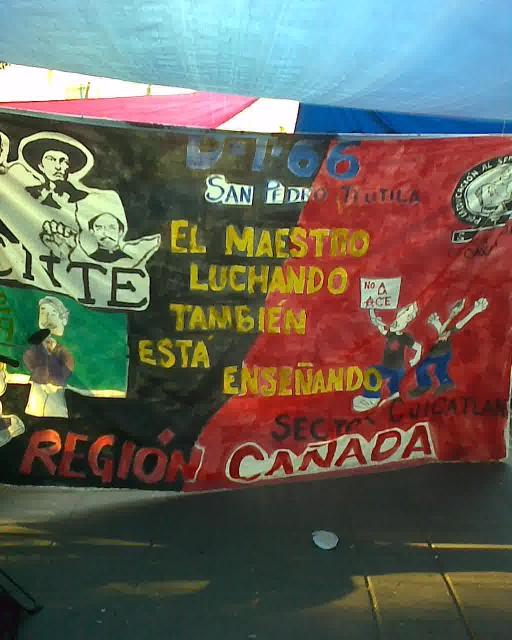 Mexico Teachers Banner