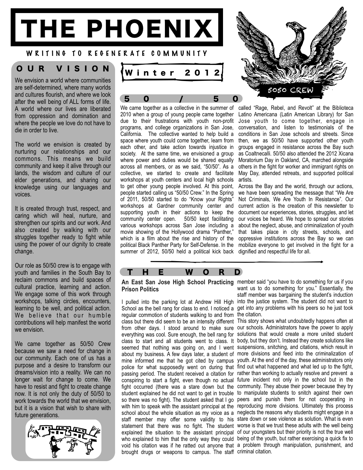 Click the image above to access the pdf of The Phoenix.